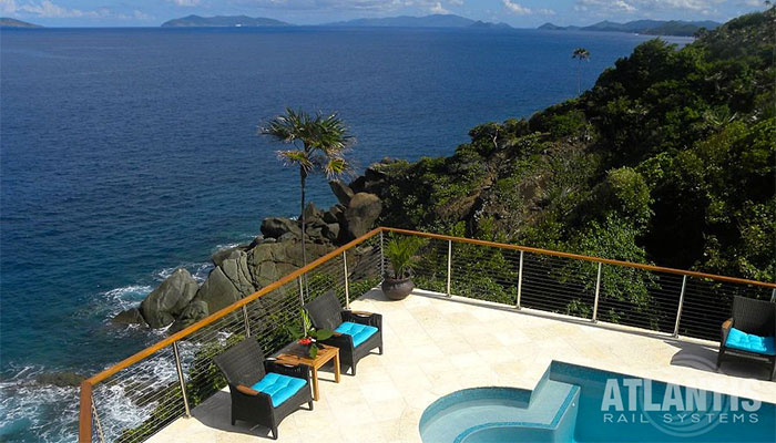 Cable Railing System in Tropical Location
