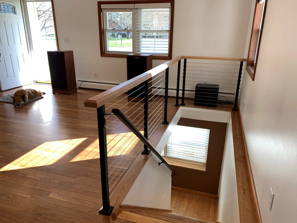 Interior Spectrum Cable Railing System for Small Project