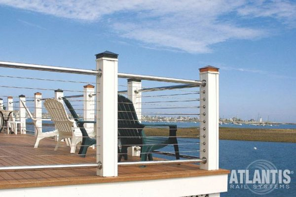 Cleaning-and-maintaining-stainless-steel-cable-railings-near-salt-air-and-water.